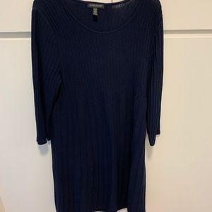 Eileen Fisher Navy washable wool (Petite M) dress